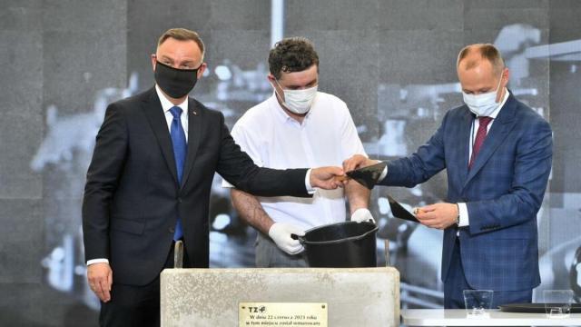 В Варшаве началось строительства Центра разработок в области онкологии