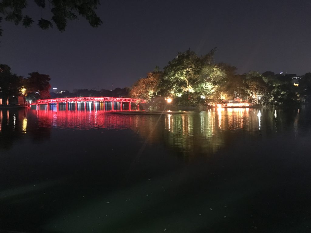Hoan Kiem sø