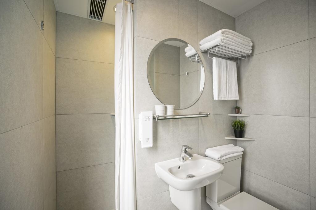 Badeværelse hotel i Hong Kong