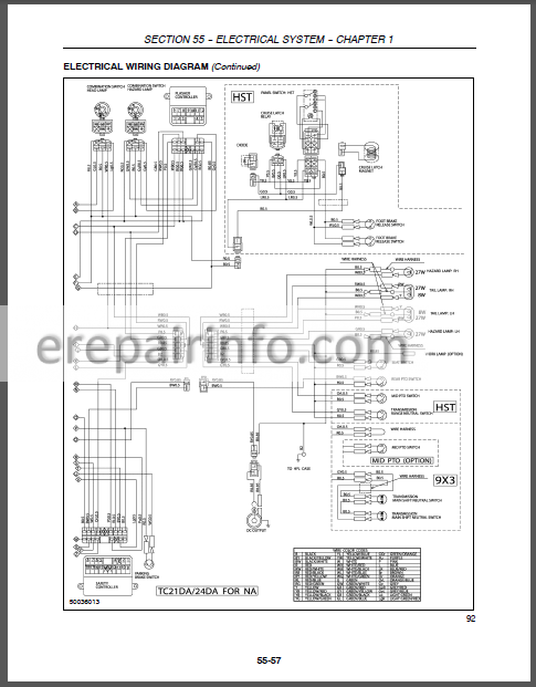 New Holland TC21DA TC24DA Repair Manual