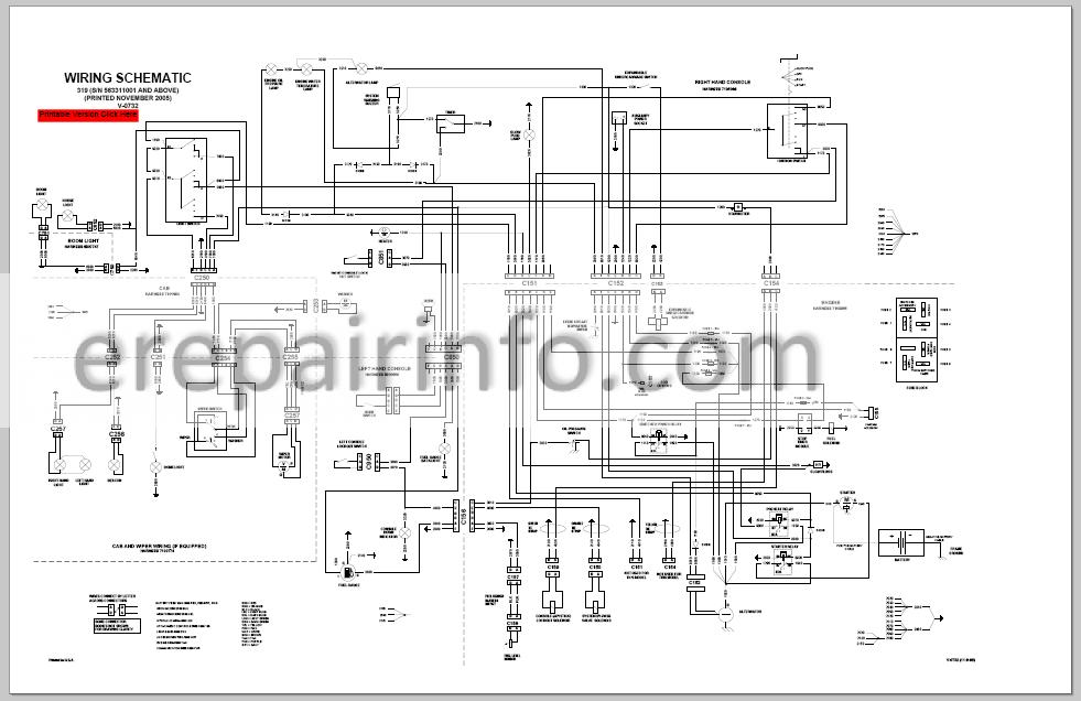 Bobcat 319 Service Repair Manual Compact Excavator 6904188
