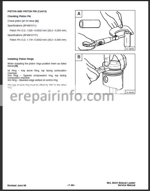 bobcat 863 hydraulic pump diagram bobcat 863 service repair manual skid steer loader 6724799 7 10  service repair manual skid steer loader