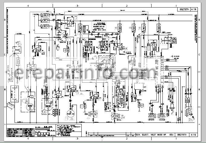 Bobcat T40140 T40170 Service Manual Telescopic Handler
