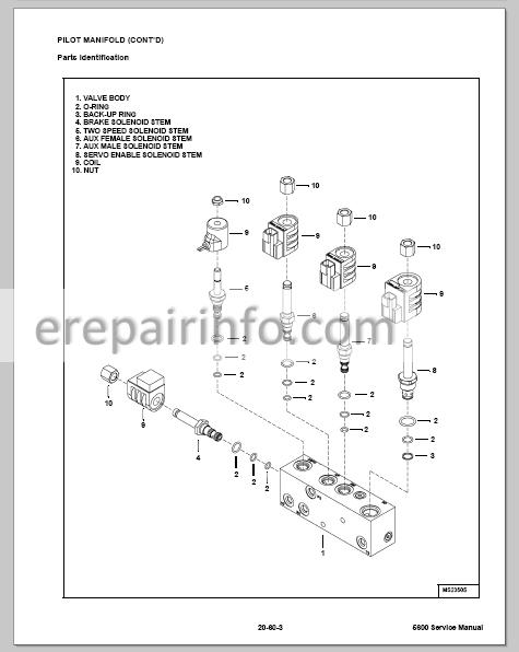 Bobcat Toolcat 5600 Service Manual Utility Work Machine