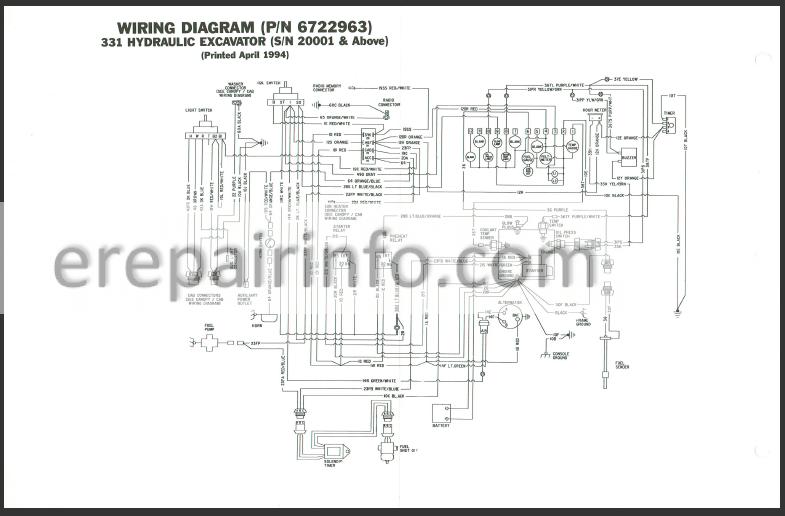 Bobcat 331 Wiring Schematic