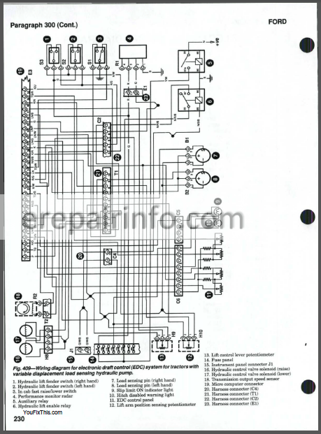 New Holland 5640 6640 7740 7840 8240 8340 Repair Manual
