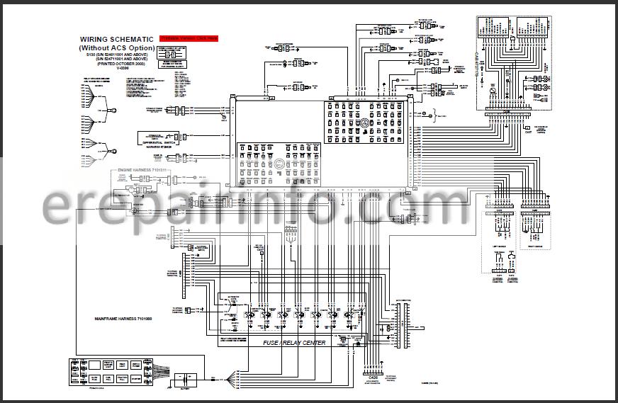 Bobcat S130 Service Manual Skid Steer Loader 6902680 3-06