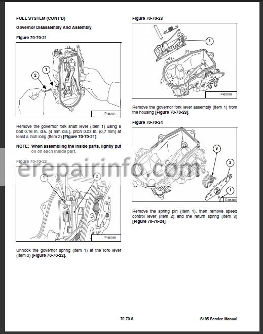 Bobcat S185 Wiring Diagram Download