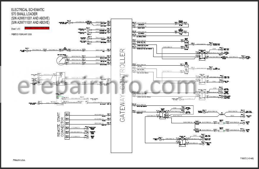 Bobcat S70 Service Manual Skid Steer Loader 6986662 2-09 – eRepairInfo.comeRepairInfo.com