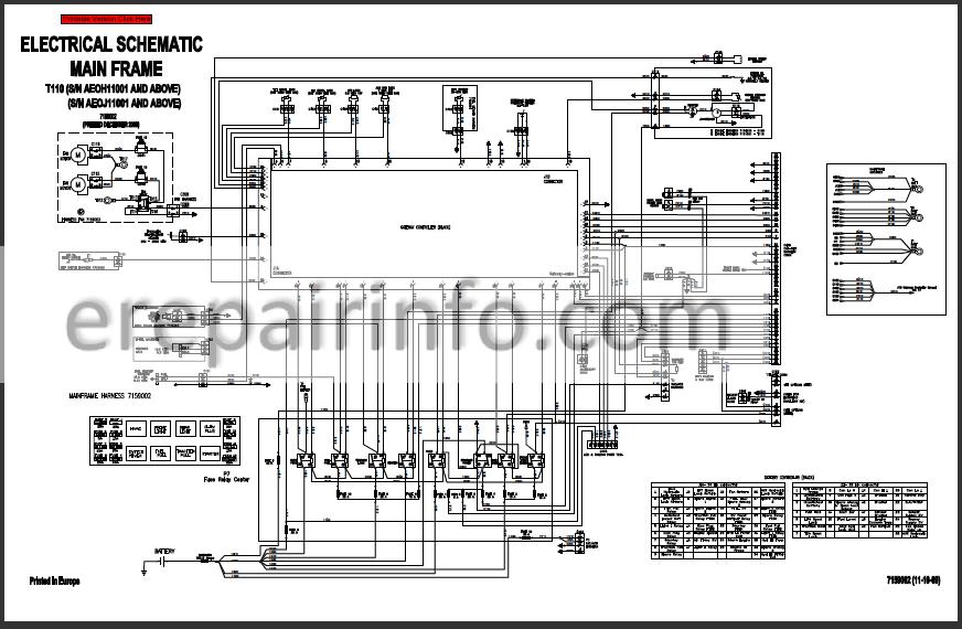 Bobcat T110 Service Repair Manual Compact Track Loader