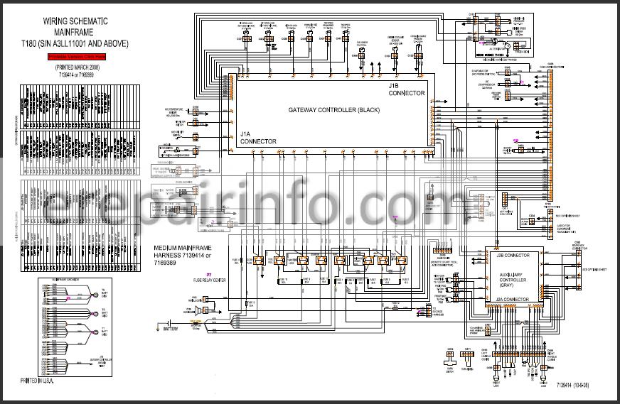 Bobcat T180 Service Repair Manual Compact Track Loader