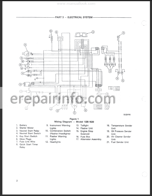 Ford New Holland 1320, 1520, 1620, 1715, 1720 Service Manual Tractors –  eRepairInfo.com | Ford New Holland Wiring Diagram |  | eRepairInfo.com