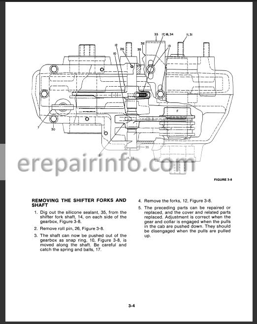 versatile 256 276 276ii service manual tractors mtd yard machine wiring diagram versatile tractor wiring diagram #5