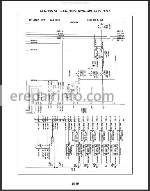 Ford New Holland 8670A 8770A 8870A 8970A Repair Manual New Holland E Electrical Wiring Diagrams on