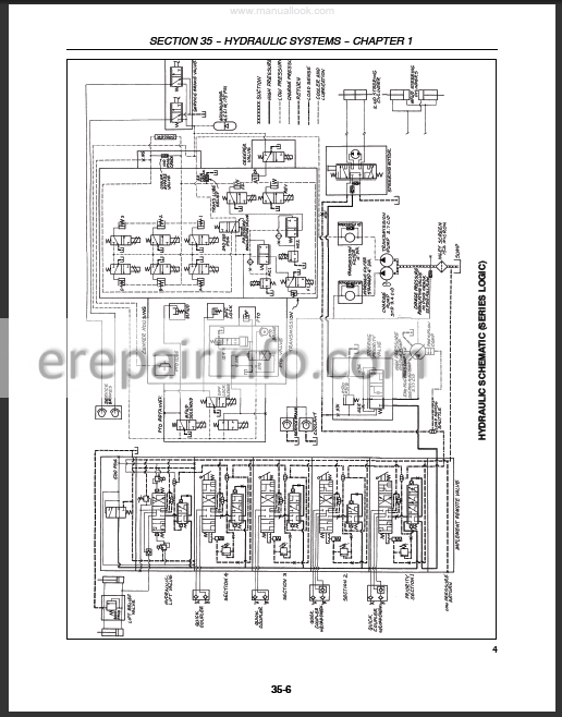 Ford New Holland 8670A 8770A 8870A 8970A Repair Manual