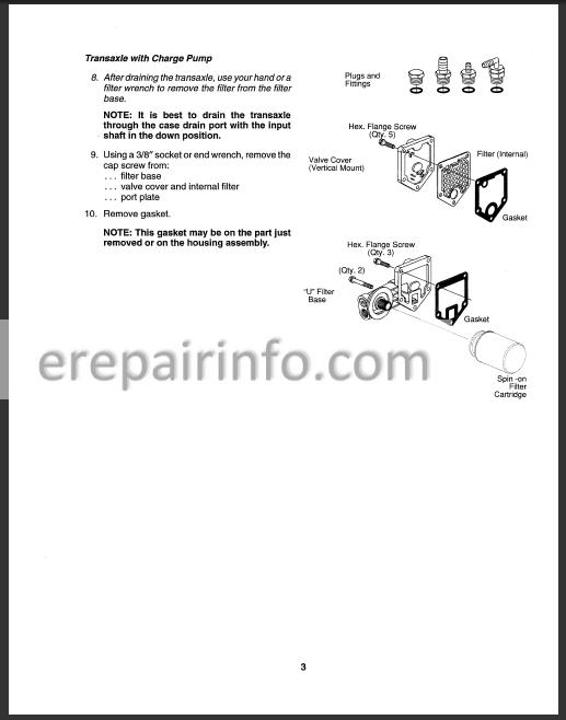Ford New Holland YT12.5 YT14 YT16 YT16H YT18H Repair Manual Tractor –  eRepairInfo.comeRepairInfo.com