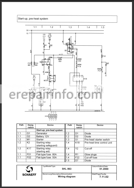 atlas 1604 service manual