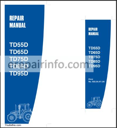 New Holland TD55D TD65D TD75D TD85D TD95D Repair Manual ... on new holland lx665 wiring diagram, new holland ls180 wiring diagram, new holland l555 wiring diagram,