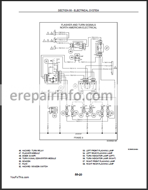 New Holland L175 C175 Repair Manual