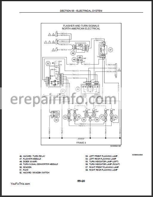 [SCHEMATICS_4FR]  New Holland L175 C175 Repair Manual – eRepairInfo.com | L175 Wiring Diagram |  | eRepairInfo.com