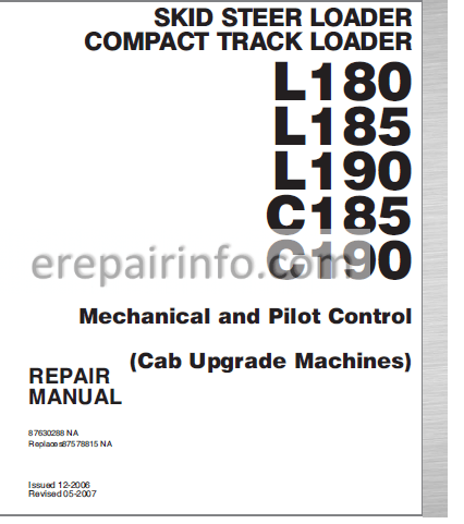 New Holland L180 Wiring Diagram. New Holland L785, New Holland L215 on