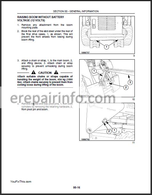 New Holland LS160 LS170 Repair Manual – eRepairInfo.com new holland ls170 fuse box diagram eRepairInfo.com
