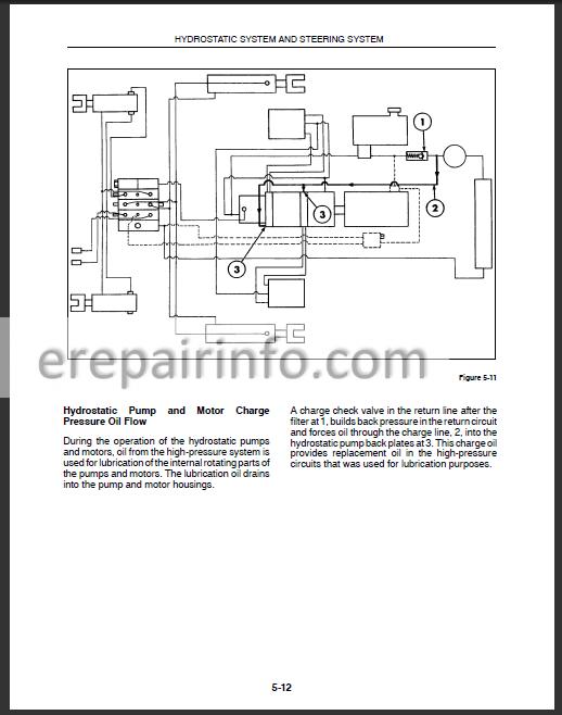 new holland l565 lx565 lx665 service manual – erepairinfo