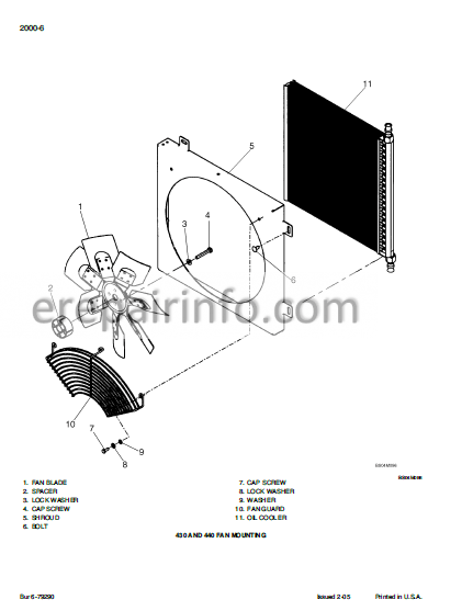 Case 430 440 440CT Repair Manual Compact Track Loader And