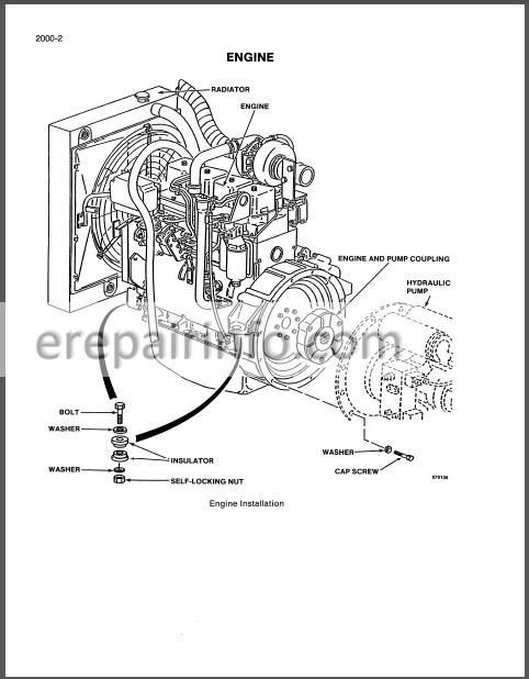 Case 688 Service Manual Excavator  U2013 Erepairinfo Com