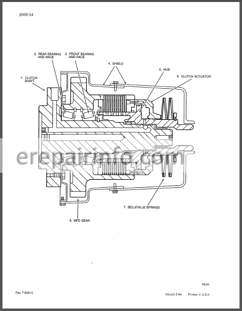 Case 7100 7200 Series Magnum Service Manual Tractor