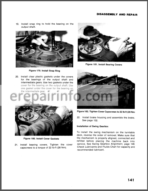 Case Drott 40 Series D Service Manual Crawler