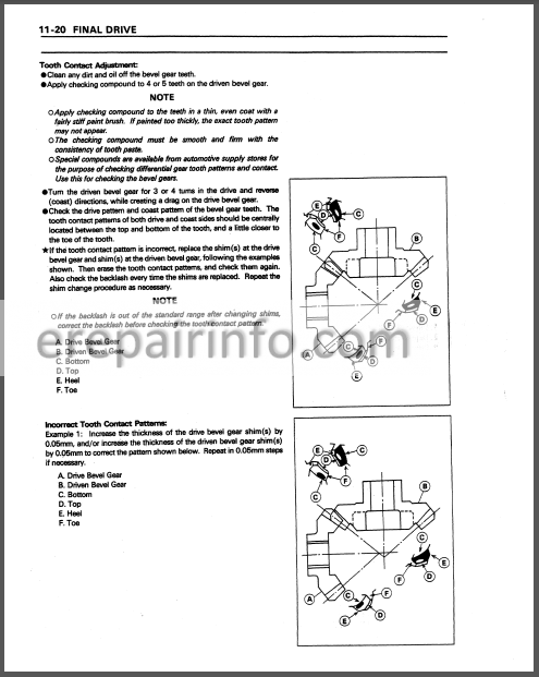 Kawasaki Mule 2510 2520 Service Manual Atv  U2013 Erepairinfo Com
