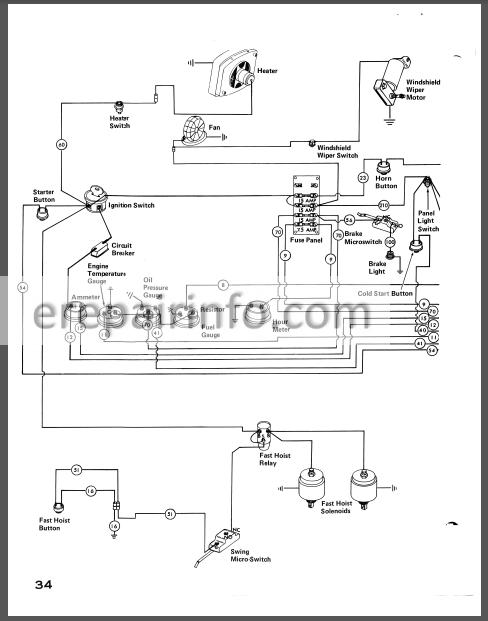 Case 980 Service Manual Excavator