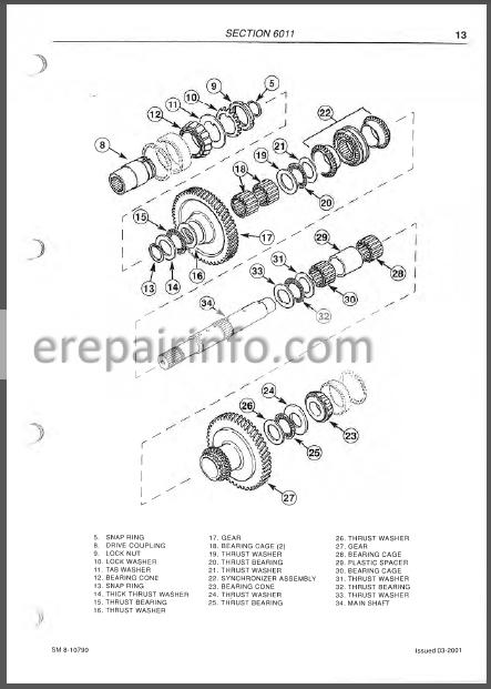 McCormick MC95 MC105 MC115 MC120 MC135 Service Manual