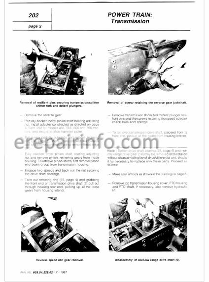 Fiat 55-66 60-66 65-66 70-66 80-66 / DT Series Workshop