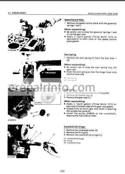 Hitachi EX12 To EX42-2 Workshop Manual