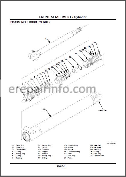 Hitachi ZAXIS 40U 50U Workshop Manual Excavator