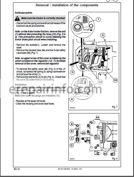 Claas Renault Ares 546 556 566 616 626 636 696 Repair Manual Tractor –  eRepairInfo.comeRepairInfo.com