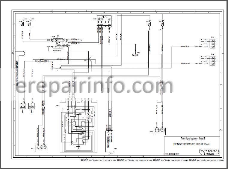Fendt 309 310 311 312 Vario Com III Workshop Manual