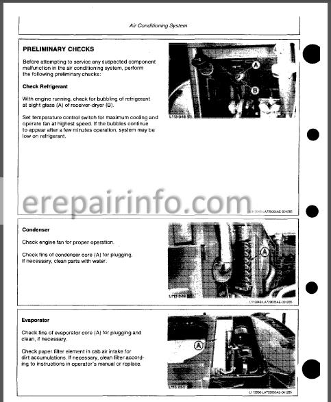 Jd 2155 2355n 2355 2555 2755 2855n 2955 3155 Technical Repair Manual Tm4436  U2013 Erepairinfo Com