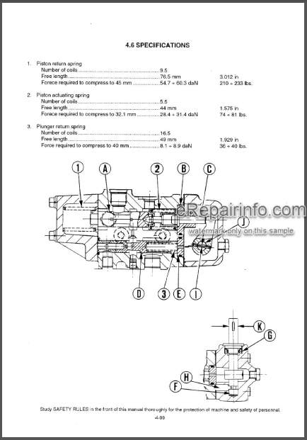 Fiatallis FD 175 Operation And Maintenance Instruction