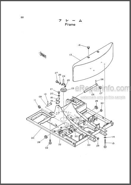 Hitachi EX120 Parts List And Parts Components Hydraulic