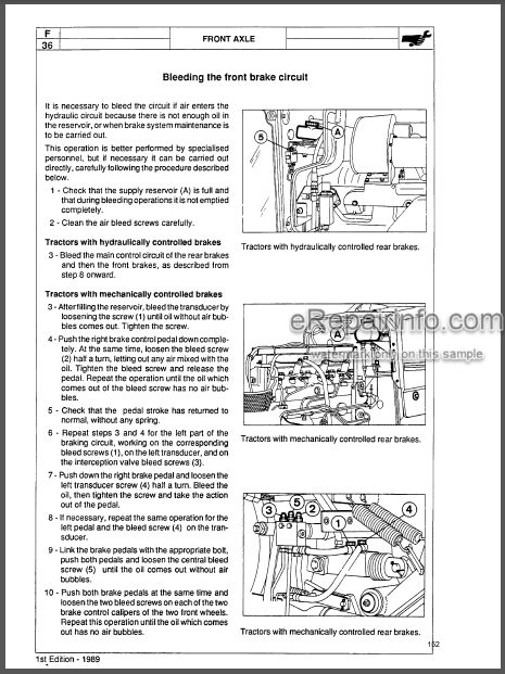 Landini 5860 6060 6860 7860 8860 Service Manual Tractor  U2013 Erepairinfo Com
