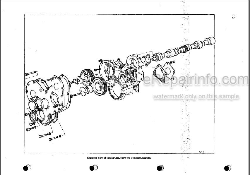Perkins 4.154 Workshop Manual Diesel Engine