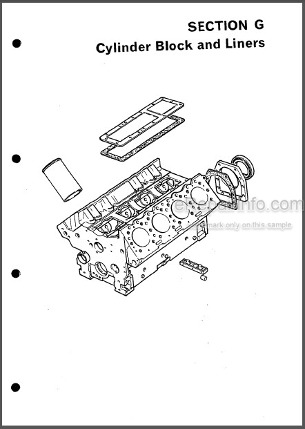 Perkins V8.510 V8.540 TV8.540 Workshop Manual Diesel