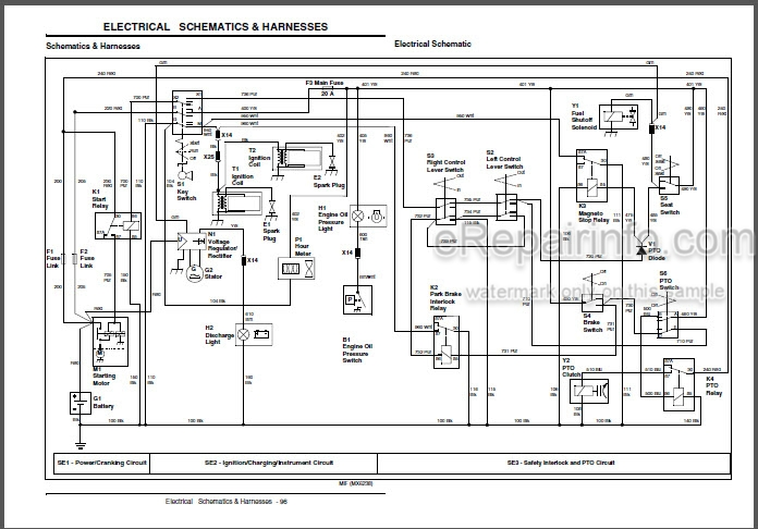 John Deere 737 757 Technical Manual Mid-Mount Z-Trak TM2003 –  eRepairInfo.comeRepairInfo.com