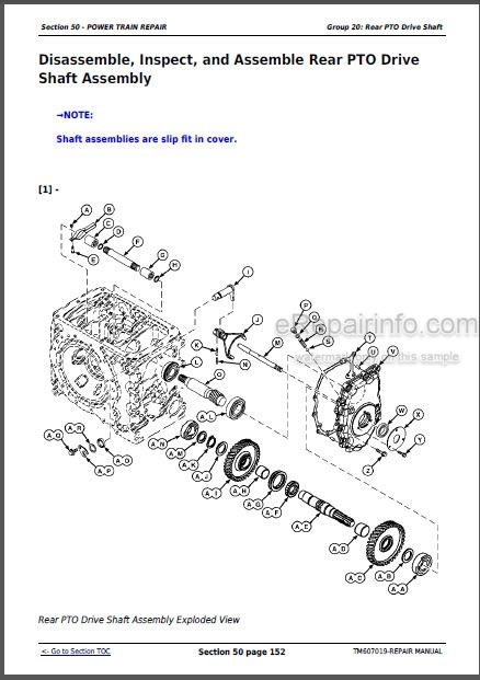 John Deere 5083E 5093E Repair Manual Tractors TM607019