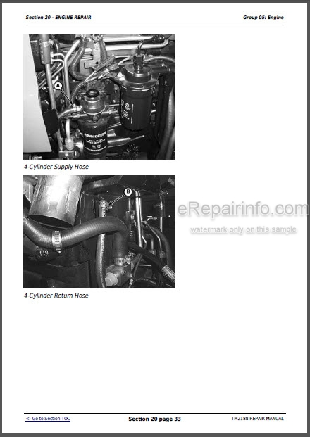 John Deere 5325N 5425N 5525N Repair Manual Tractors TM2188