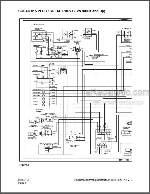Daewoo Solar 015 Plus Solar 018-VT Shop Manual Hydraulic