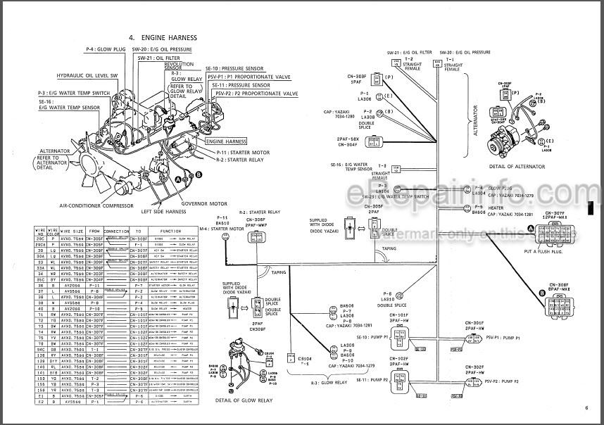 Kobelco SK200V SK200LCV Shop Manual Hydraulic Excavator